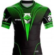 Camisa Estampada Free Fire Verde e Preto