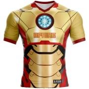 Camisa Estampada Homem de Ferro