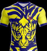 Camisa Estampada Tigre e Dragão