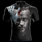 Camisa Estampada Vikings Ragnar