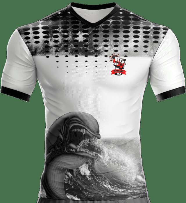 Camisa Estampada Baleia