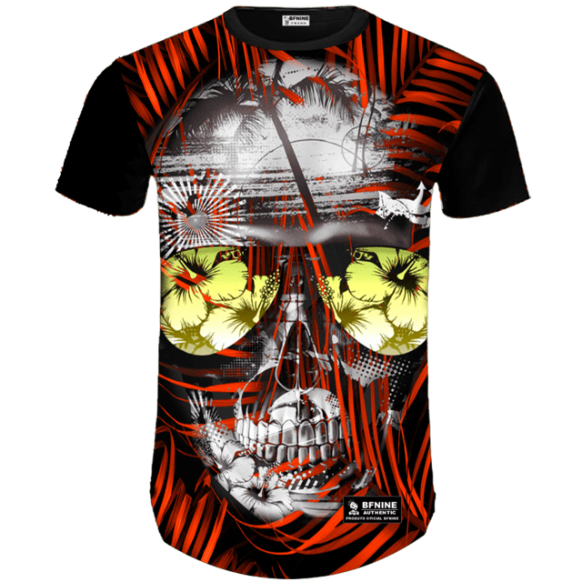Camisa Estampada Caveira 18