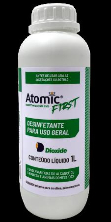Desinfetante Estabilizado Atomic First - 1L