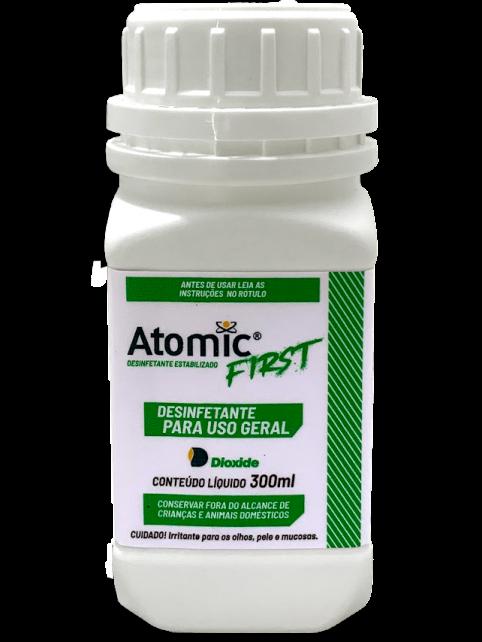 Desinfetante Estabilizado Atomic First - 300ml