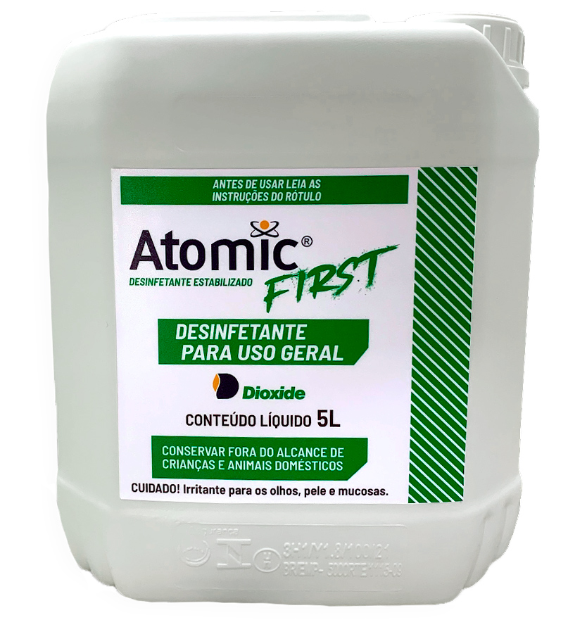 Desinfetante Estabilizado Atomic First - 5L