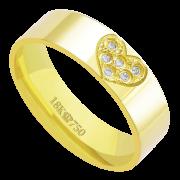 Aliança Ouro18K CPL C569R (9,00)
