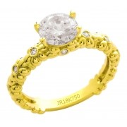Anel Ouro 18K JR Metais AN002 (6,00)