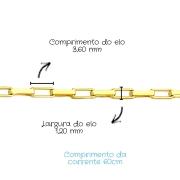 Corrente Ouro 18k Cartier 60 cm 802482