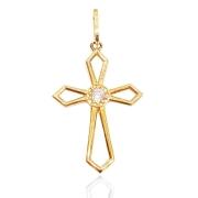 Crucifixo Ouro 18k 002141