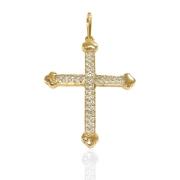 Crucifixo Ouro 18k 070676