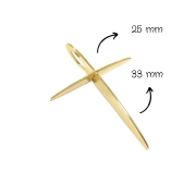 Crucifixo Ouro 18k PG16994