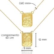 Escapulário Ouro 18k 005722