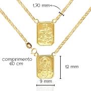 Escapulário Ouro 18k 012461