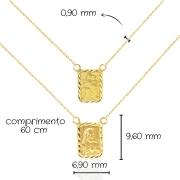Escapulário Ouro 18k 802536
