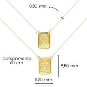 Escapulário Ouro 18k 802543