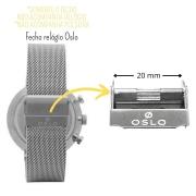 FECHO PARA PULSEIRA RELÓGIO OSLO 20mm