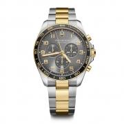 Relógio Masculino Victorinox Fieldforce Classic Chronograph Cinza 241902