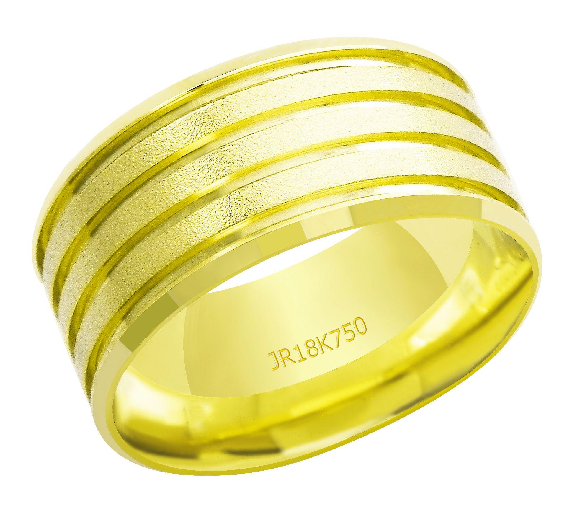 Aliança Ouro 18K JR Metais AT857 (8,80)