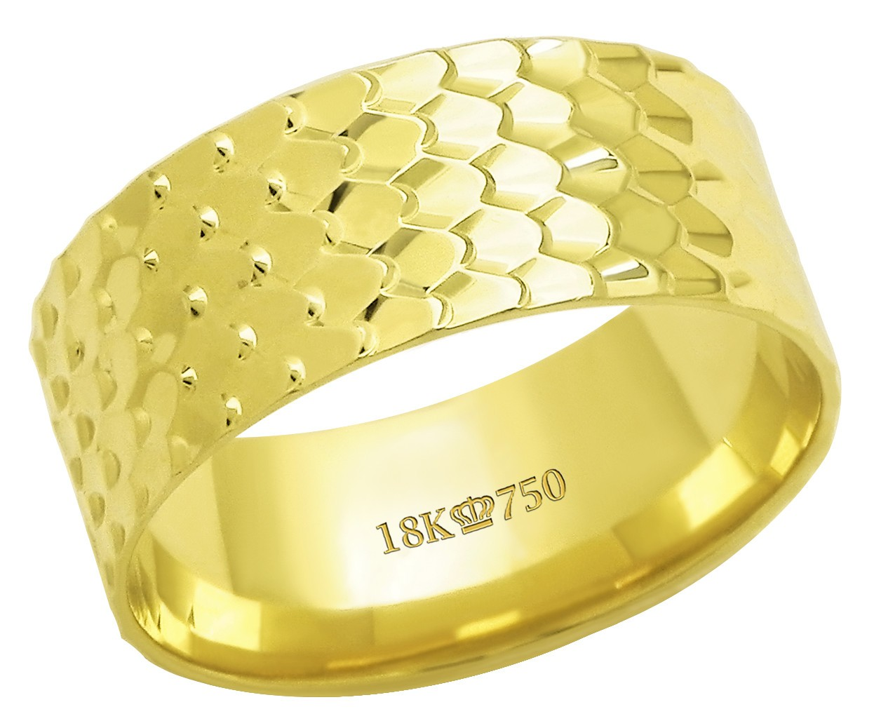 Aliança Ouro 18k CPL C625R