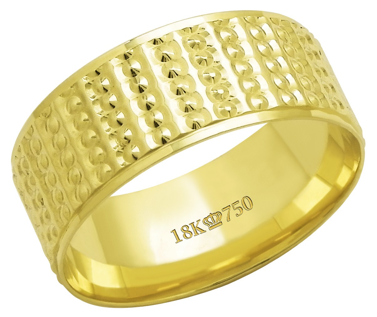 Aliança Ouro 18k CPL C626R