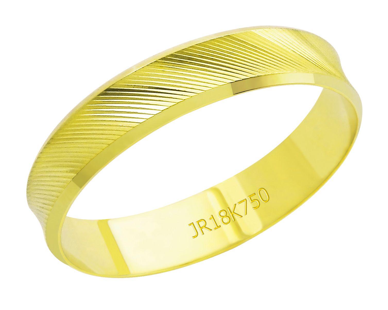Aliança Ouro 18K JR Metais A04F (2,55)