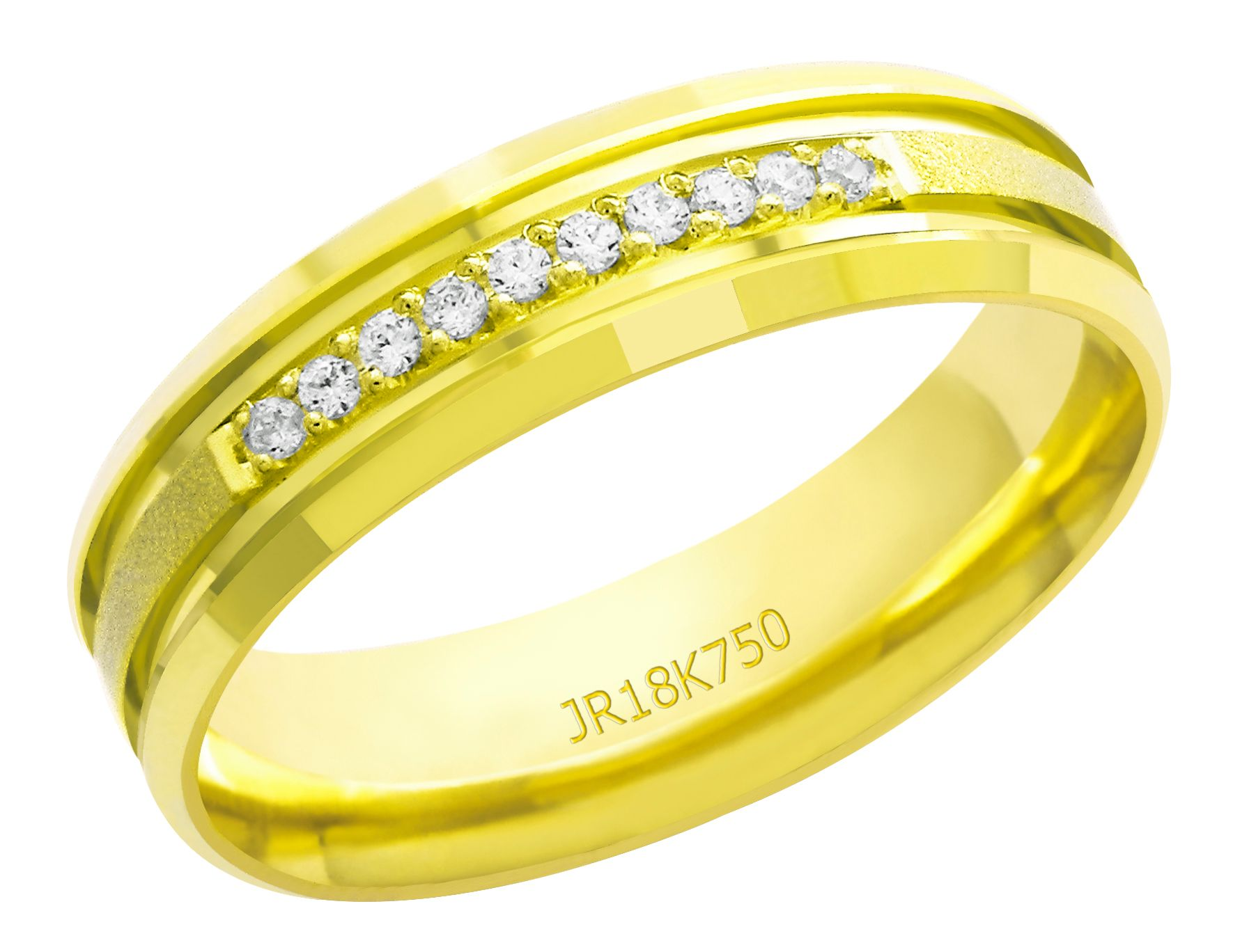 Aliança Ouro 18K AT853C (7,00)
