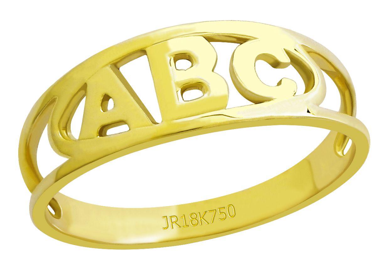 Anel Formatura Ouro 18k ANF324