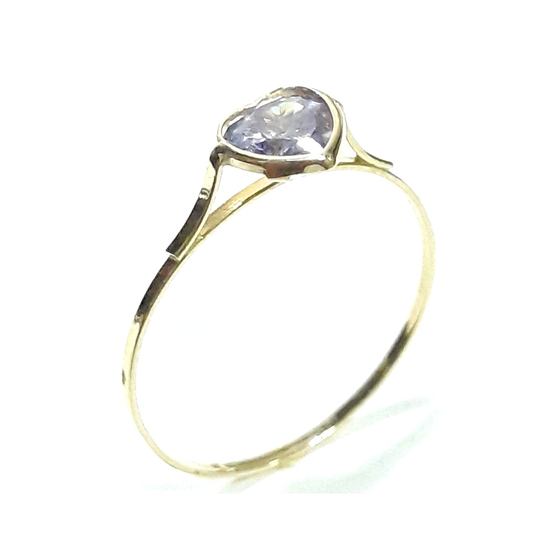 Anel Ouro 18k 10015-10