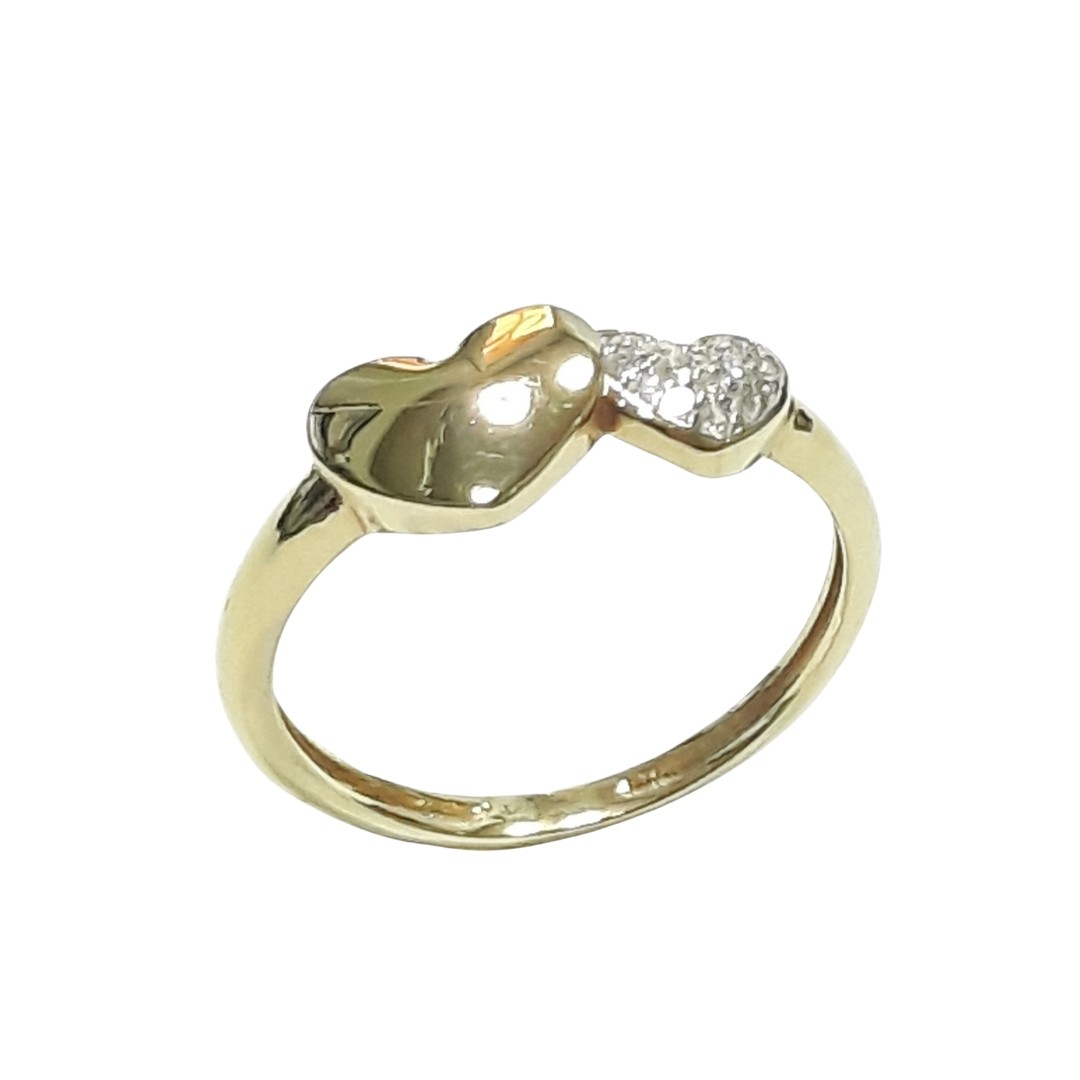 Anel Ouro 18k 13544