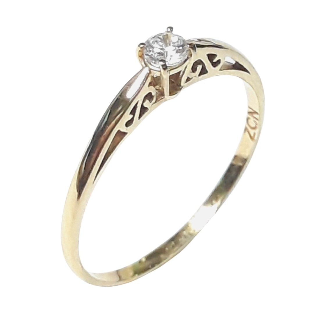Anel Ouro 18k 17508