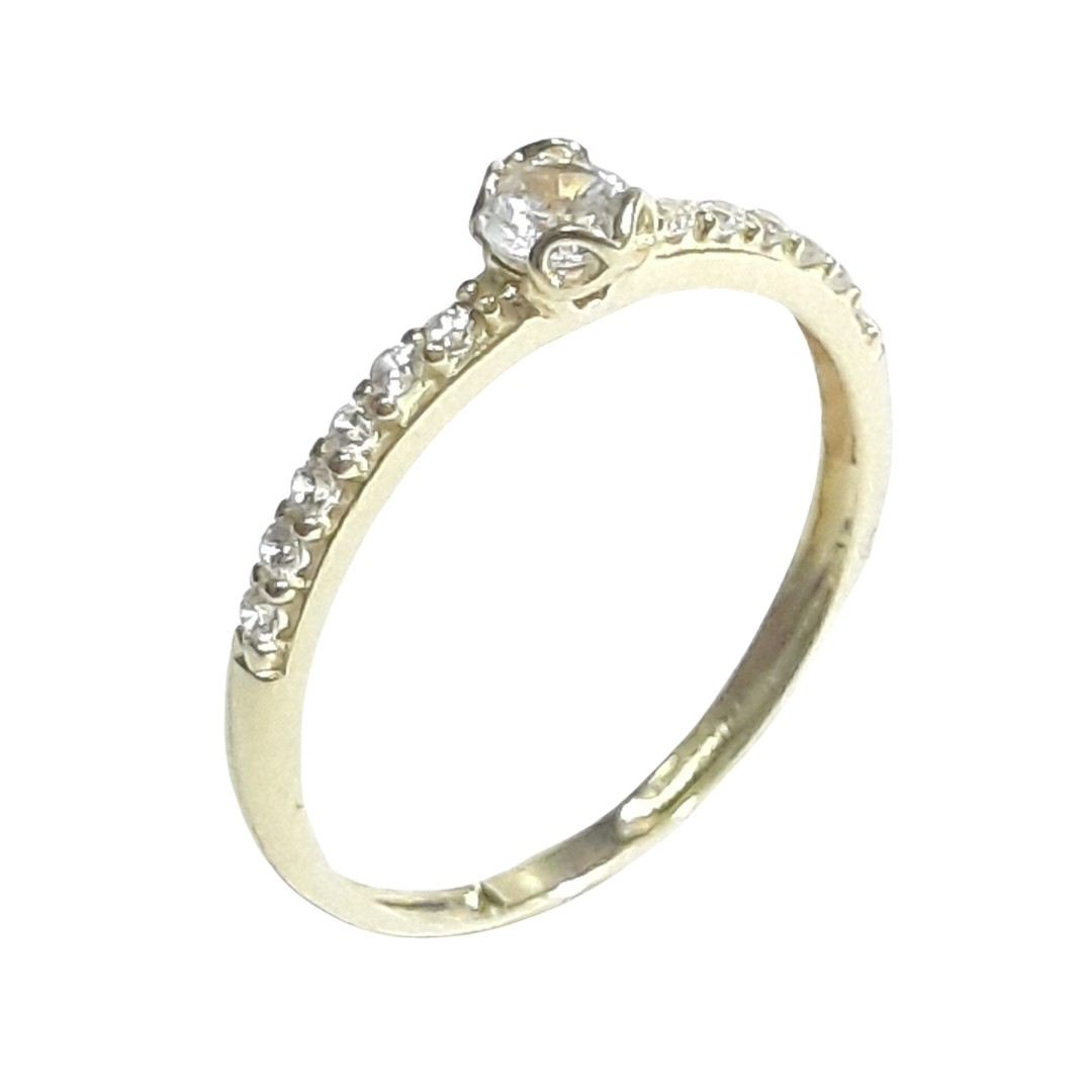 Anel Ouro 18k 4179