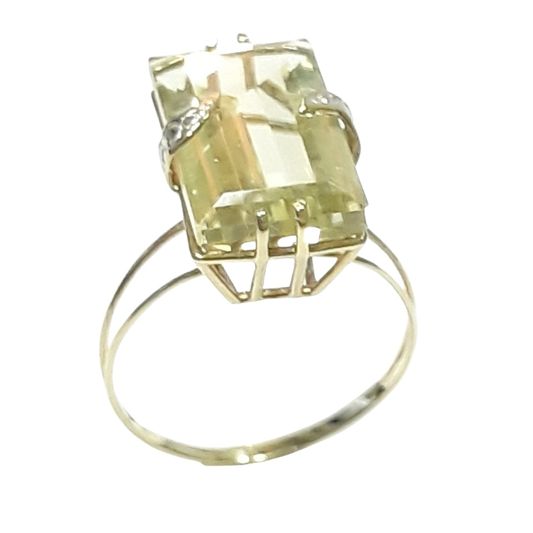 Anel Ouro 18k 9644