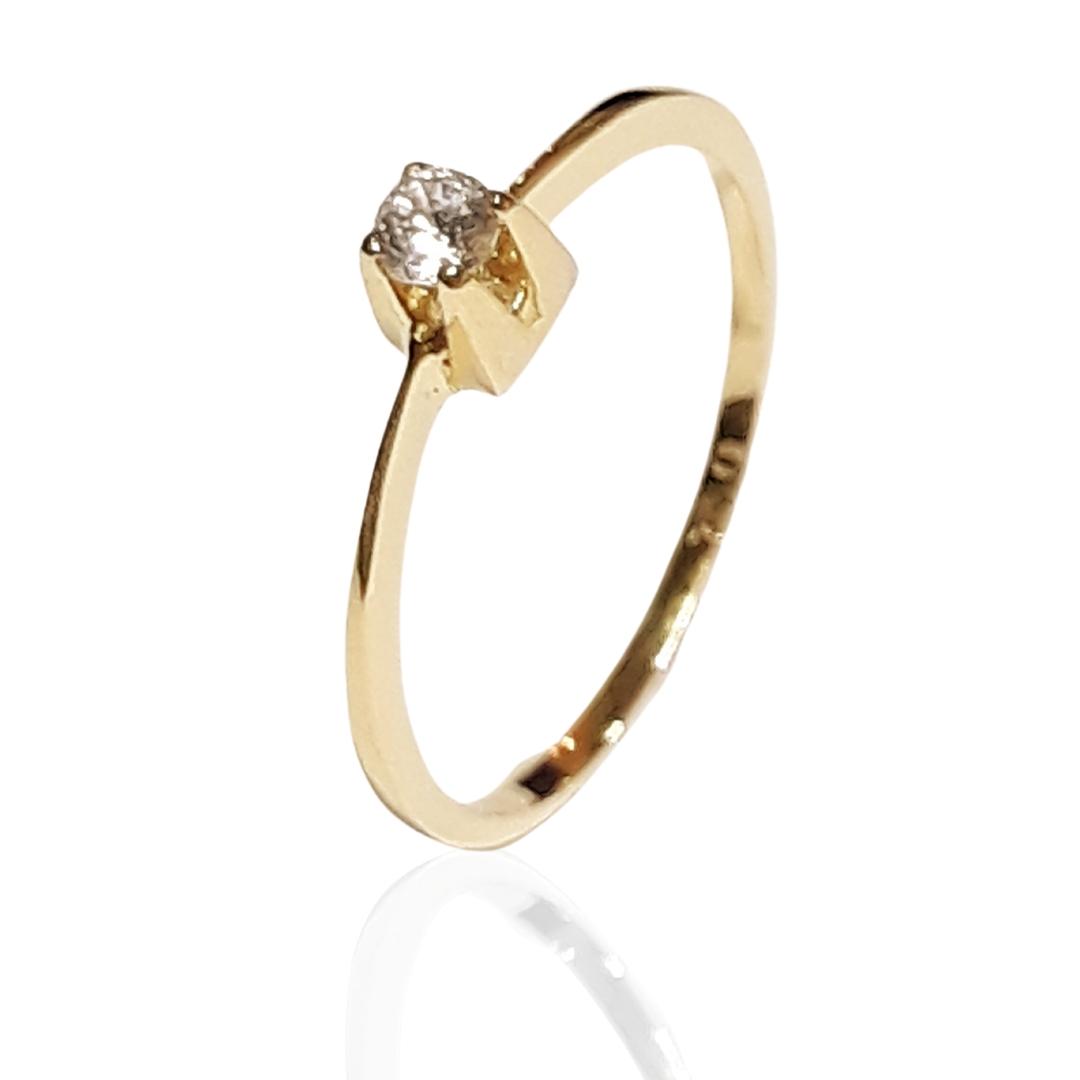 Anel Ouro 18k AZ1704-10PT