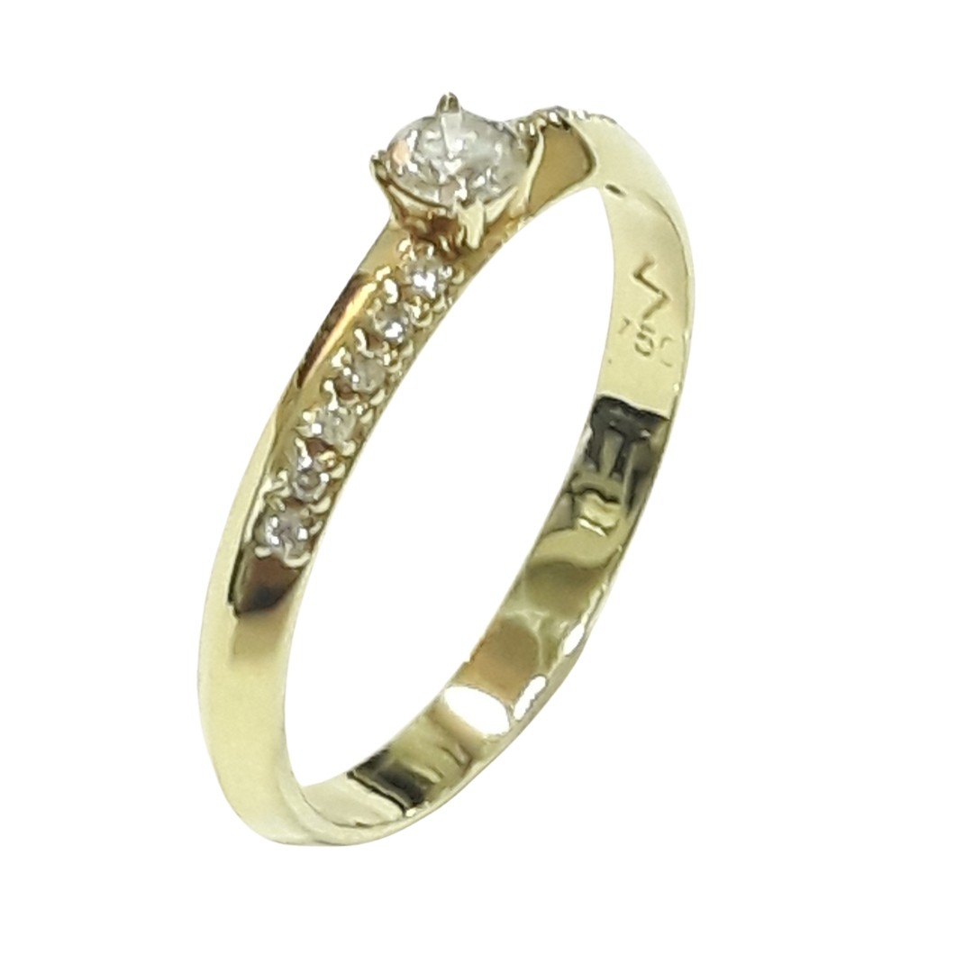Anel Ouro 18k CAS0021