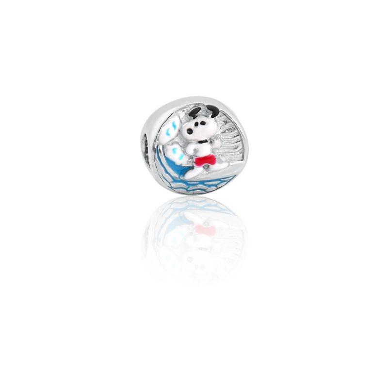 Berloque Prata Snoopy Surf P05948-36