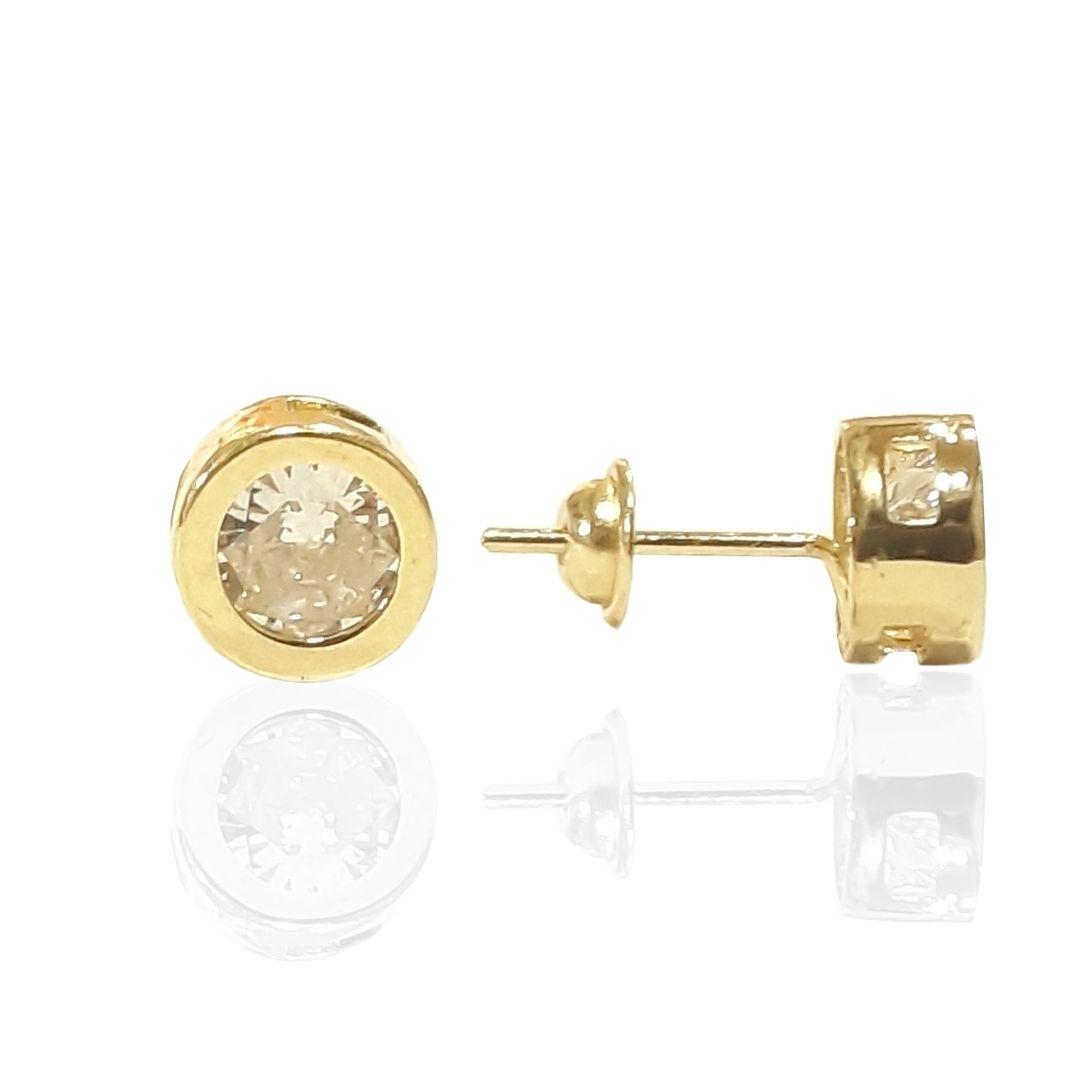 Brinco Ouro 18k F045
