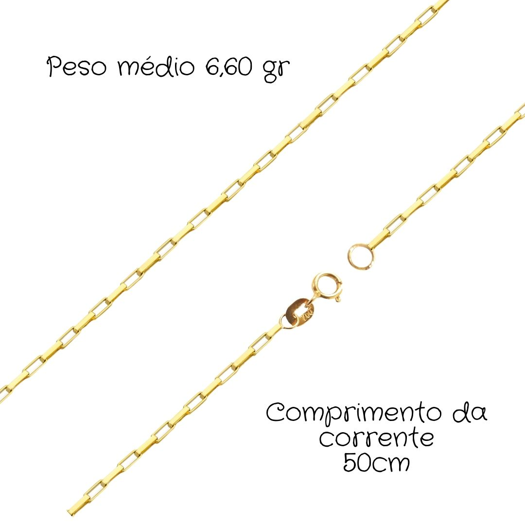 Corrente Ouro 18k Cartier 50 cm 089340