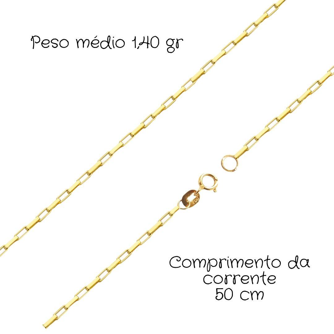 Corrente Ouro 18k Cartier 50 cm 91242