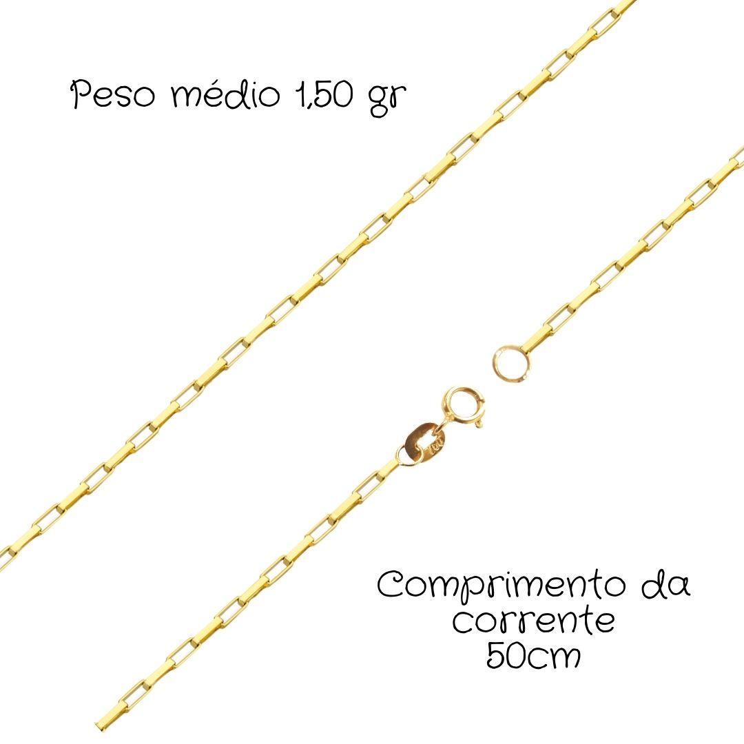 Corrente Ouro 18k Cartier 50 cm 91265