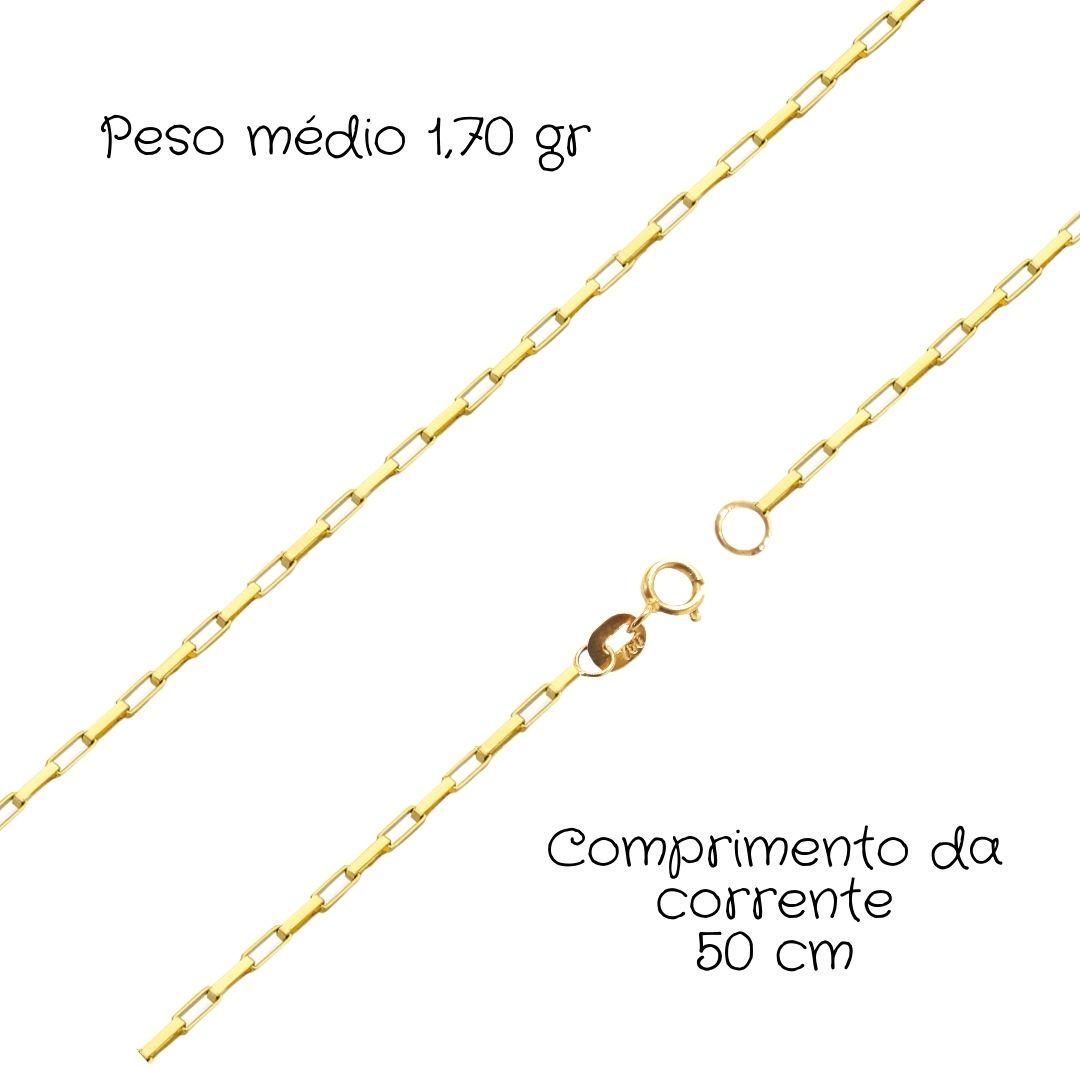 Corrente Ouro 18k Cartier 50 cm 91269