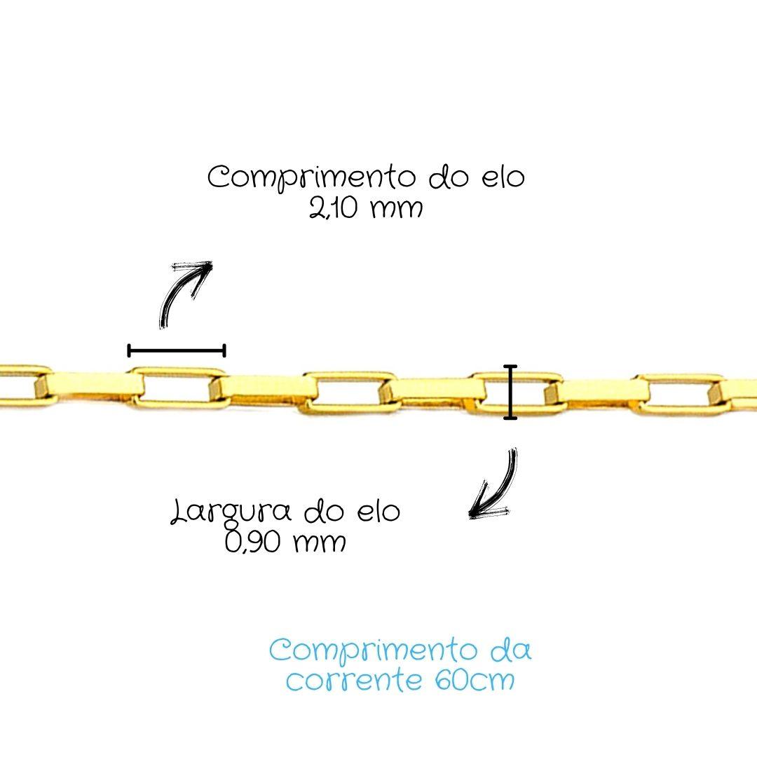 Corrente Ouro 18k Cartier 60 cm 090575