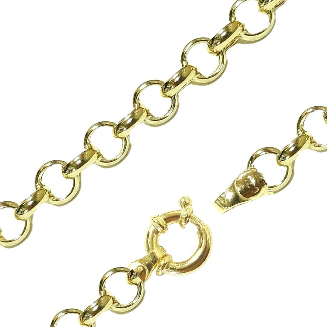 Corrente Ouro 18k Portuguesa 91394
