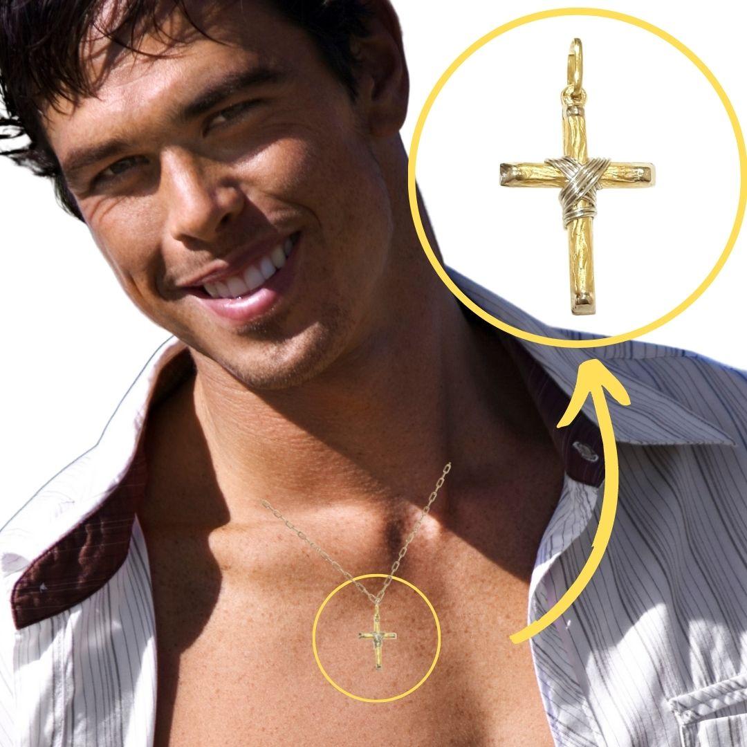 Crucifixo Ouro 18k 005234