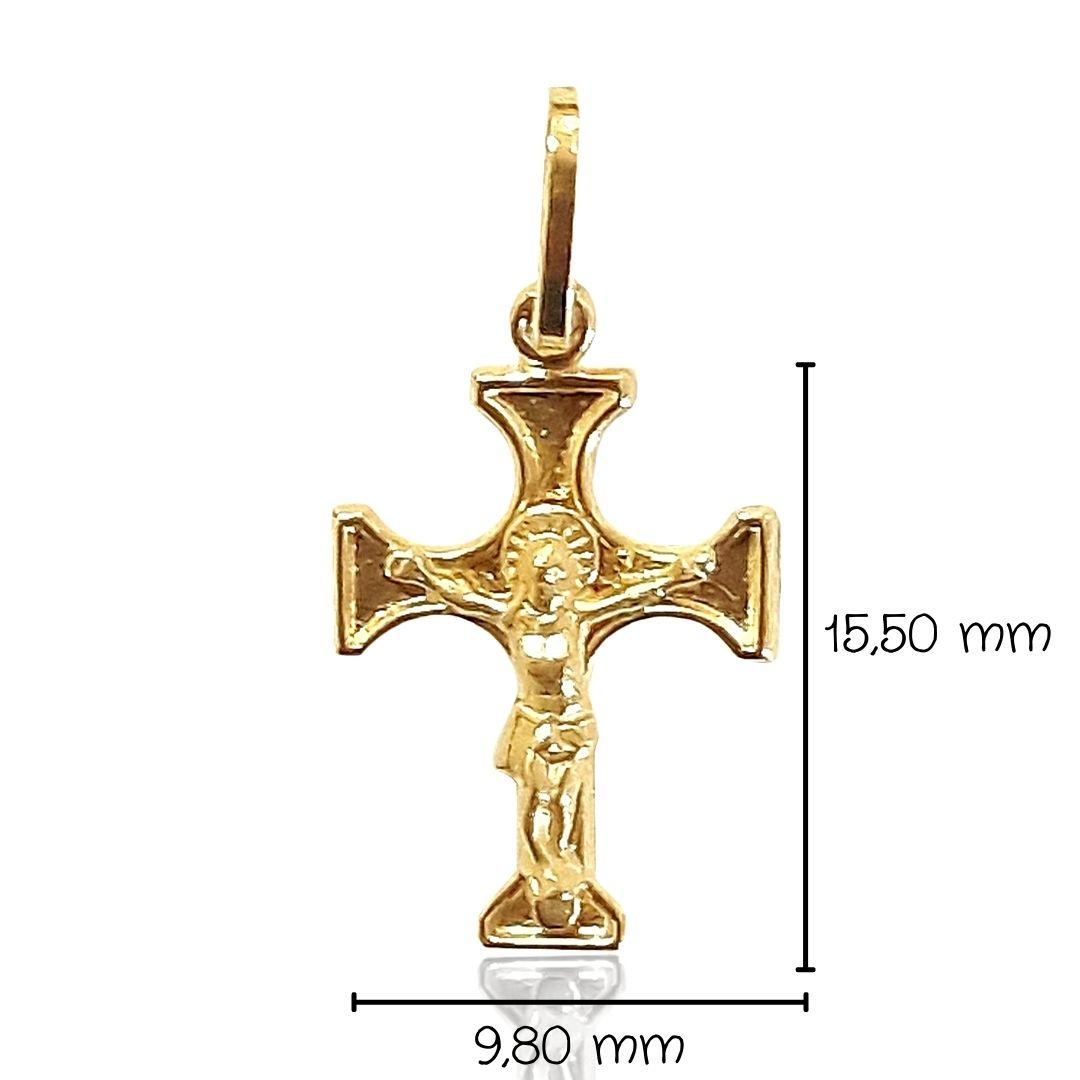 Crucifixo Ouro 18k 005609