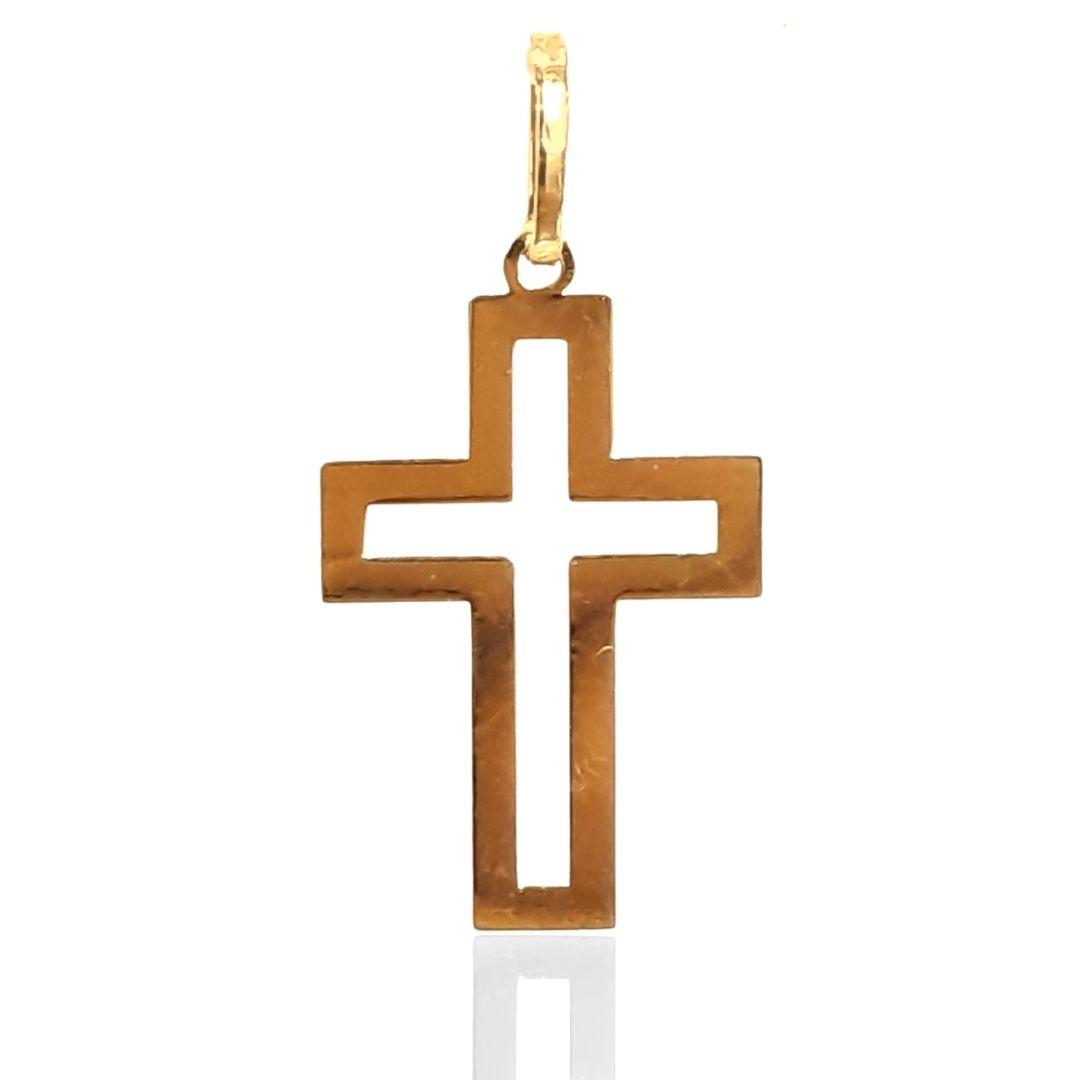 Crucifixo Ouro 18k 61542