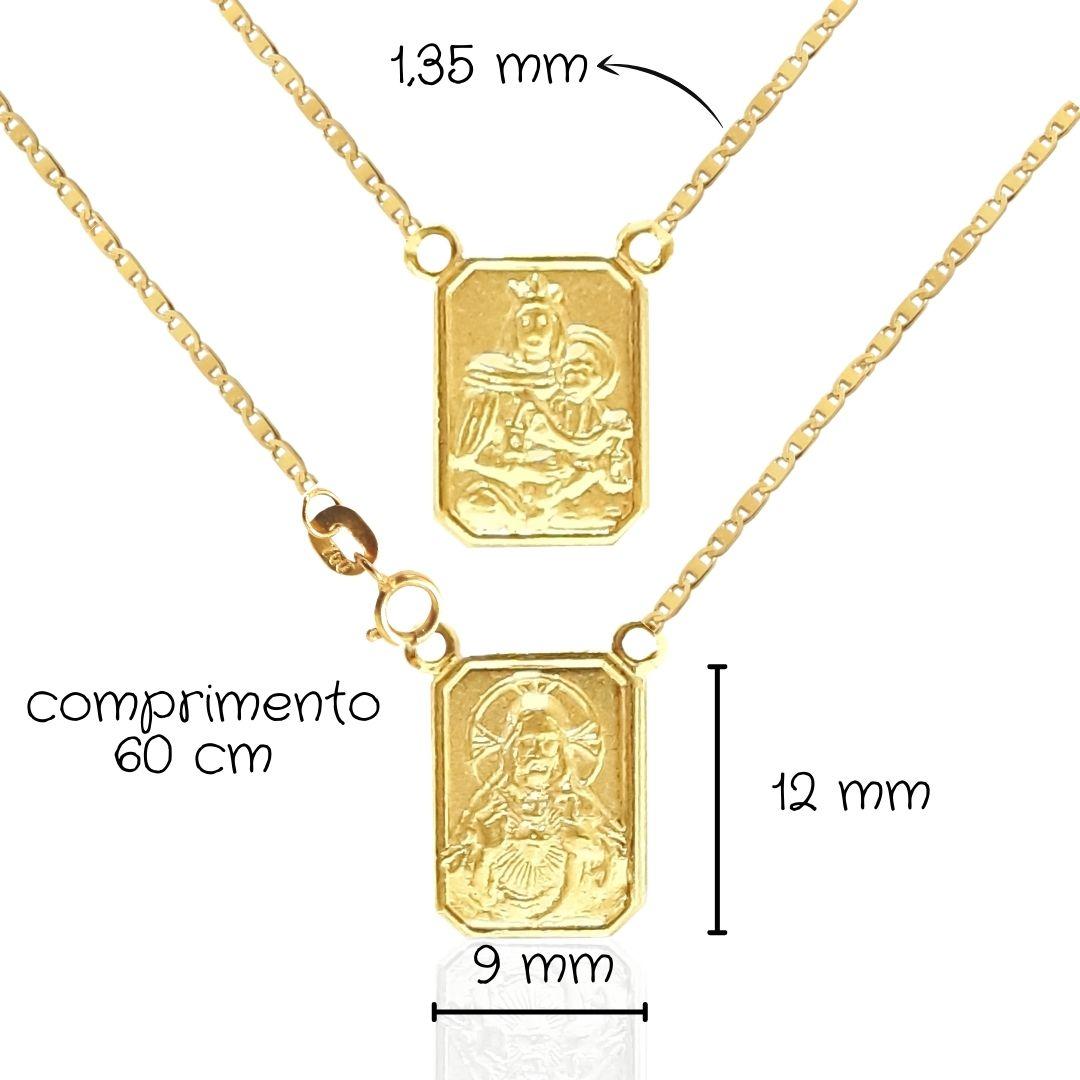 Escapulário Ouro 18k 061131