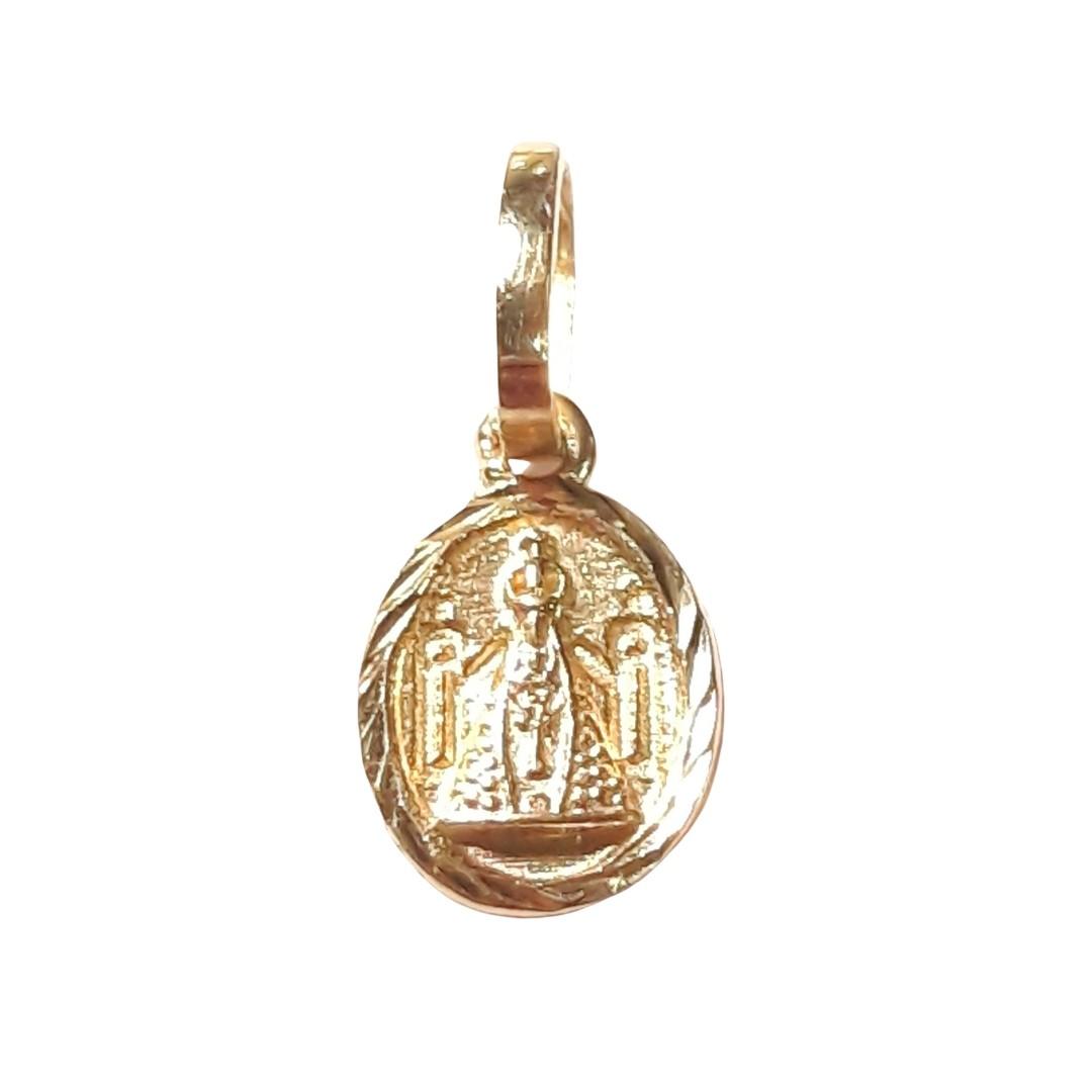 Pingente Ouro 18k Nossa Senhora Aparecida PG309