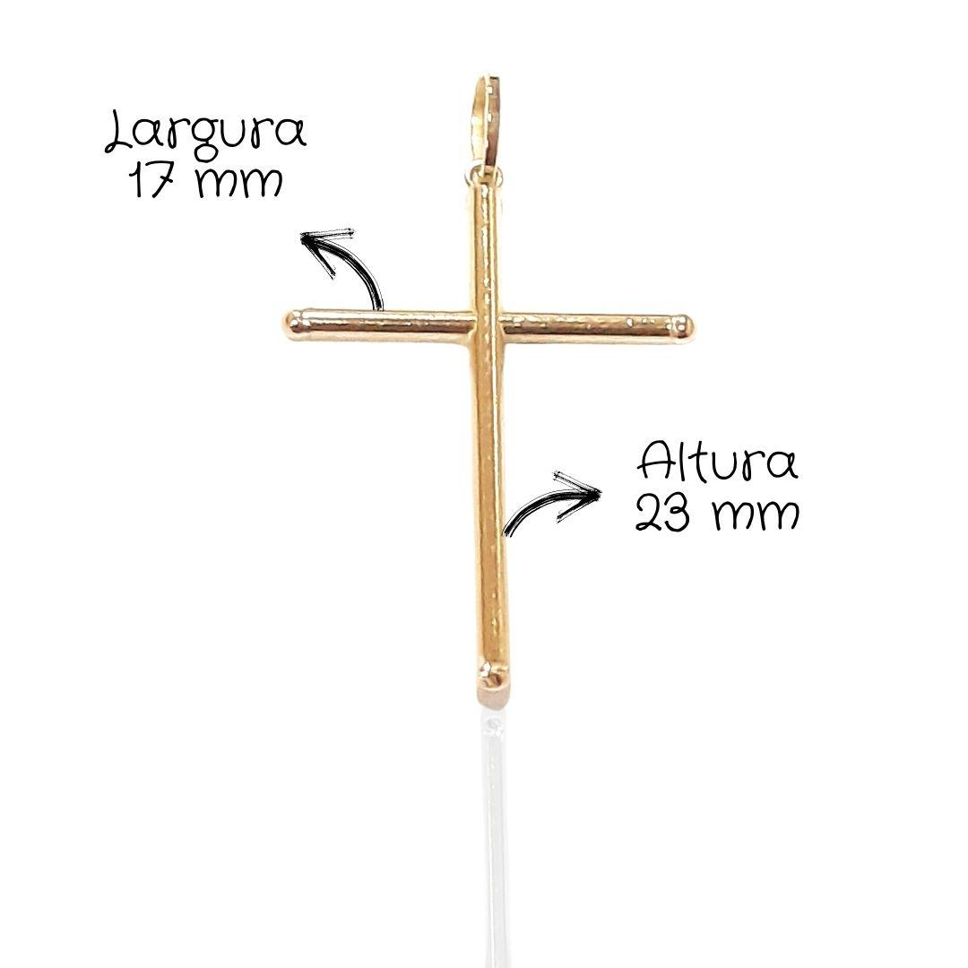 Crucifixo Ouro 18k PICRUZ02