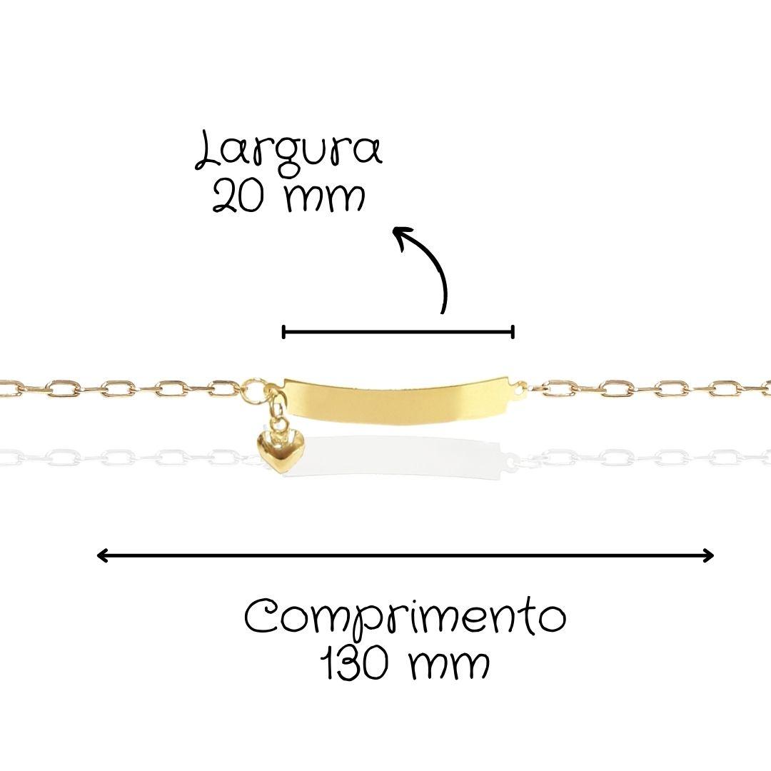 Pulseira Infantil Ouro 18k 51568