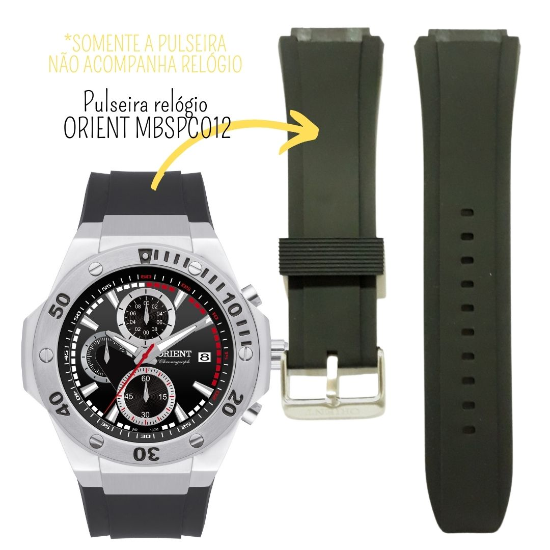 Pulseira Relógio Orient MBSPC012